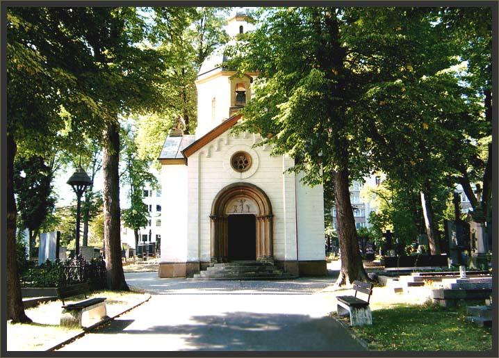 2. Mladá Boleslav, Bičíkova kaple na Starém hřbitově